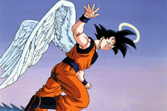 Dragon Ball Z - The Legacy of Goku - Bye Bye Goku/Kakarot - User Screenshot